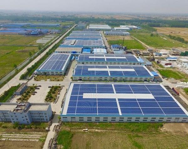 工商业屋顶光伏发电
