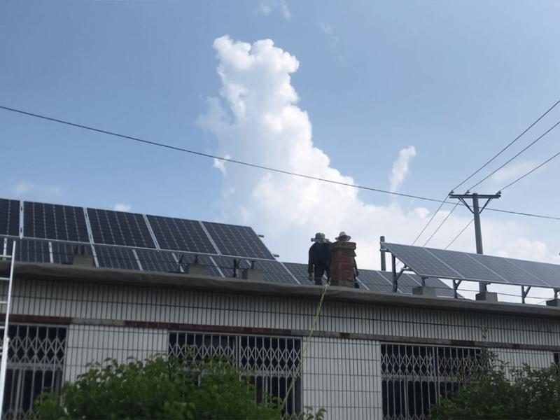 朝阳喀左县161.65KW并网项目