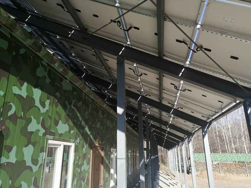 长白山珍稀植物培育基地100KW并网光伏电站